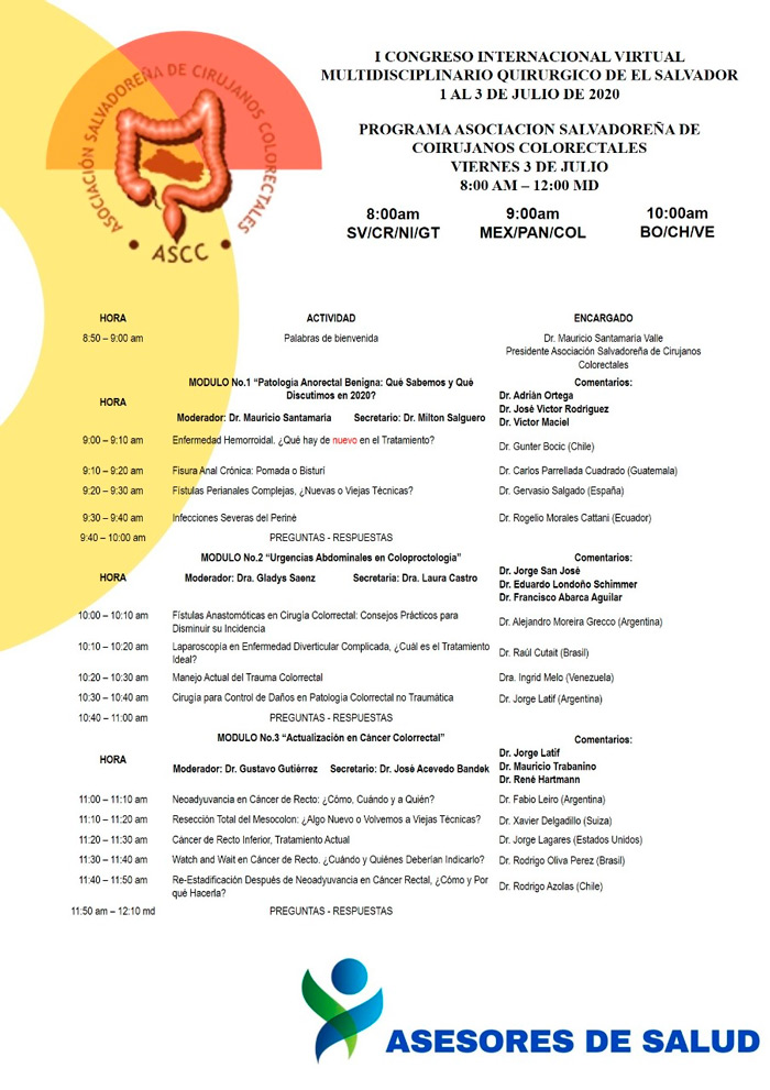 Programa ASCC del I Congreso Internacional Virtual
